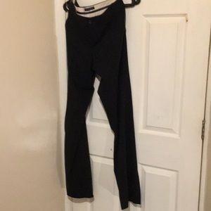 Banana Republic stretch black bootcut pants
